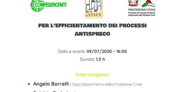 BitGood, giovedì 9 luglio alle 16.00 il webinar con Protezione Civile e Anci